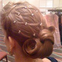 Ballroom hair net