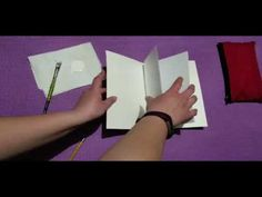 A quick video on how to make a basic soft cover book using blank paper. I remov. Artworks, Art Pieces