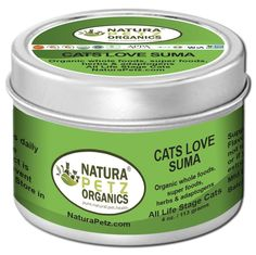 Cats Love Suma to include Glandular Support for Cats -- Details can be found by clicking on the image. (This is an affiliate link and I receive a commission for the sales) #Kitty