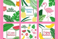 More than 3 millions free vectors, PSD, photos and free icons. Exclusive freebies and all graphic resources that you need for your projects Diy And Crafts, Paper Crafts, Cute Notebooks, Diy Notebook, Summer Design, Kids Prints, Diy Cards, Diy Painting, Printable Wall Art