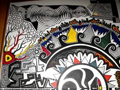 colorful sharpie art - Google Search