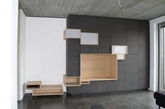 Geometric Storage & Shelving - Filip Janssens #Storage #Shelves #Livingroom