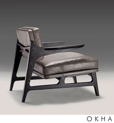 Miles Armchair by OKHA Design & Interiors...