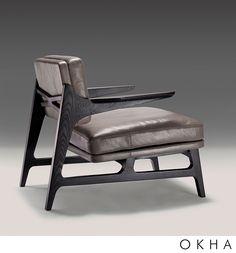 Miles Armchair by OKHA Design & Interiors