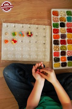 multiplication activity using jelly beans *math you can TOUCH and FEEL