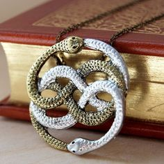 Handmade Gifts | Independent Design | Vintage Goods The Magical Auryn Necklace - I love magic & fairytales