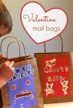 Valentine Mail Bags (from Melissa & Doug)