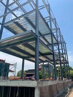 Steel Structure, Concrete, Interior Decorating, Construction, House Design, Cabinet, Building, Steel Frame Homes, Architectural House Plans