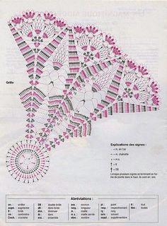 schematy na koszyczki na szydełku | wzór znaleziony na internecie