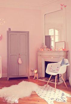 La jolie chambre bébé de Zoé - rose, pink, baby room, chambre bébé, déco