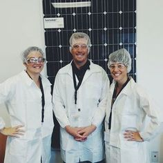 At Elemental Energy, we like to shop local! Whenever possible, we use SolarWorld USA modules which are manufactured right here in Hillsboro! We love them so much that we even took a tour of their factory.