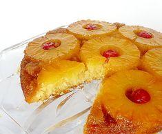#Receta de cocina Torta de Piña