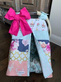 desert cactus pink Super Soft Rag Baby Burp Cloths 3 Pc Set baby Shower gift pink aqua Floral leaves