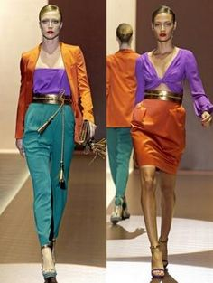 how to wear colours