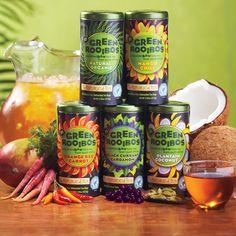 What is Raw Green Bush Tea
