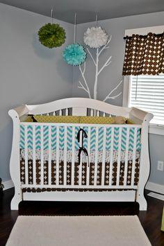 Baby Sawyer's Owl Nursery
