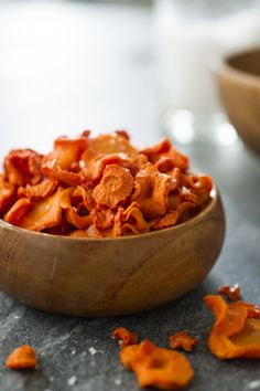 Recipe: Make carrot candy by drying carrots. Candied Carrots, Baked Carrots, Healthy Candy, Healthy Snacks, Carrot Recipes, Vegan Recipes, Appetizer Recipes, Snack Recipes, Appetizers
