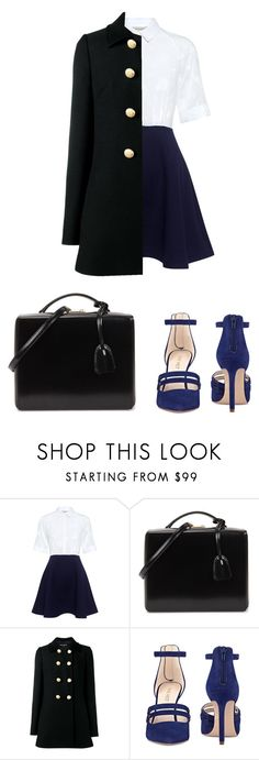"""""""C L A S S Y"""" by reyhannalee on Polyvore featuring Paul & Joe Sister, Mark Cross, Dolce&Gabbana and Nine West"""