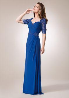 565ca1c7f Las 15 mejores imágenes de vestidos combinados con encajes