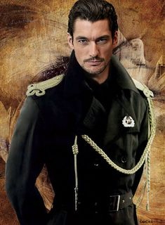 Captain Fairfax by angel-in-side on DeviantArt Famous Male Models, Androgynous Models, David James Gandy, Charming Man, Perfect Boy, Guy Pictures, Hot Boys, Gorgeous Men, Ford Models