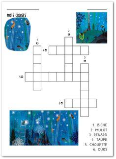 Les Incos 2020/2021 – La Bonne Étoile de Taupe Illustrations, Crossword, Taupe, Diagram, Lucky Star, Preschool, Crossword Puzzles, Beige, Illustration