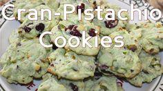 Cran Pistachio Cookies #Holidays #Christmasbaking #Cookies #Cranberry #Pistachio #Grinch