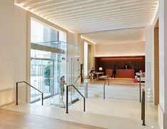 The New York Edition. Main hotel entrance. Rockwell Group.