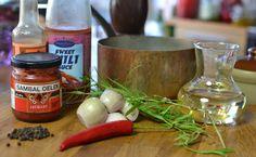 Læknirinn í eldhúsinu : Grilluð ribeye steik með kraftmikilli chillibernaise