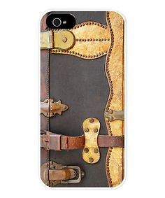 This Steampunk Luggage Case for iPhone 5/5s by CafePress is perfect! #zulilyfinds
