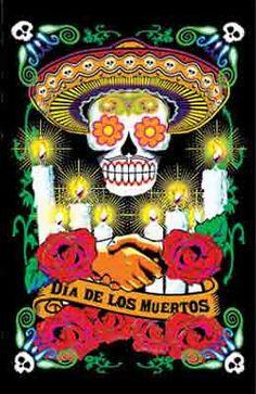 DIA De Los Muertos Posters - Bing Images