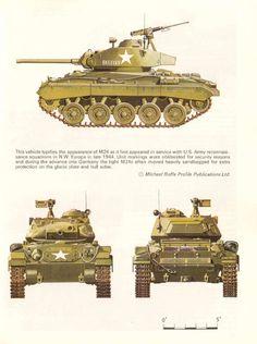 М 24 Light Tanks