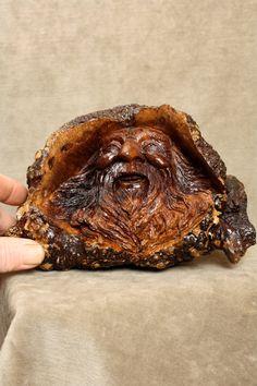 Wood Spirit Carving Gnome Elf Wizard by TreeWizWoodCarvings, $250.00