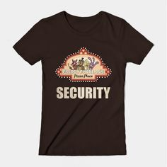 Freddy Fazbear Pizza Logo Security Shirt Five Nights at Freddy's
