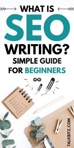 What is SEO Writing (Beginner's Guide for Success) - TalkBitz Affiliate Marketing, E-mail Marketing, Digital Marketing Strategy, Content Marketing, Online Marketing, Marketing Ideas, Business Marketing, Mobile Marketing, Marketing Strategies
