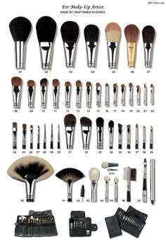 an explanation of what each brush does. every girl should know this. @ The Beauty ThesisThe Beauty Thesis