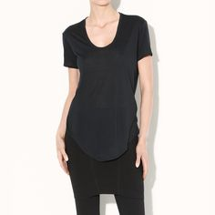 Rank & Style Top Ten Lists | Helmut Lang Kinetic Jersey Tee #rankandstyle
