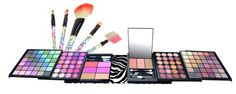 Shany 129 colors bold traveller size eye shadow and blusher make-up gift set kit $23.99