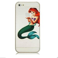 BRAND NEW iPHONE 4/4s/5/5s/5c transparent case/covers Disney Ariel Frozen Elsa Anna Snow White Rapunzel (iPhone 4/4s, Ariel) Sz http://www.amazon.co.uk/dp/B00T83NDSQ/ref=cm_sw_r_pi_dp_y118ub0SF6AAC