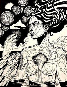 Artist: Joshua Mays {Afrofuturism art}