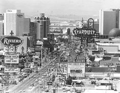 Las Vegas Strip '80s. I used to work at The Algiers...lower left hand corner!