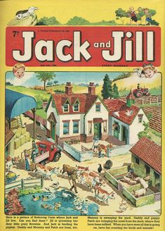 Jack and Jill 1966 1970s Childhood, My Childhood Memories, Children's Comics, Uk History, Jack And Jill, Vintage Journals, Vintage Books, Teenage Years, Vintage Comics