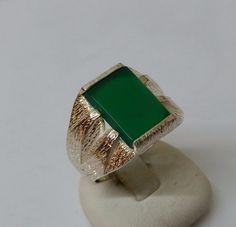 925+Silberring+mit+grünem+Onyx-Stein+19,9+mm+SR258+von+Atelier+Regina++auf+DaWanda.com