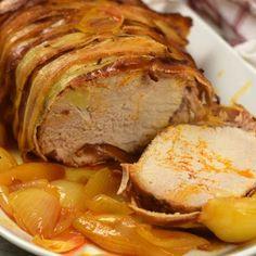 9 mennyei húsétel, ami akár az ünnepi asztalra is kerülhet | Nosalty Hungarian Recipes, Pork Dishes, Dessert Recipes, Desserts, Air Fryer Recipes, Pork Recipes, Sausage, Food And Drink, Google