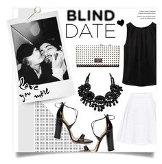 """What to Wear: Blind Date"" by mfardilha ❤ liked on Polyvore featuring FOSSIL, Aquazzura, women's clothing, women, female, woman, misses and juniors"