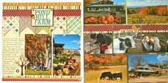 Ideas for Scrapbook Pages with 9 photos    Sue Altman   Get It Scrapped