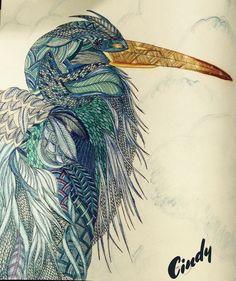 Adultcoloring Coloredpencils Milliemarotta Animalkingdom Coloring BooksAnimal KingdomSpringInstagramPs