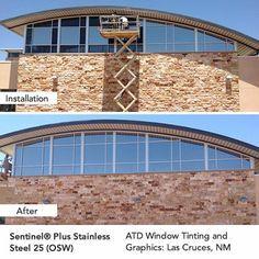 Sentinel® Plus Stainless Steel 25 -Outside Weatherable Window Film (OSW) #windowfilm. Get a free Estimate!