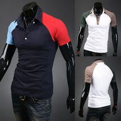 New Color Patch Slim Fit Men Fashion Polo Tee Shop Now at http://www.sneakoutfitters.com/New-Color-Patch-Slim-Fit-Men-Fashion-Polo-Tee-p5456.html