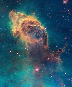 The Hubble Space Telescope was sent to space in 2004 to site outside the filter of the Earth\'s atmosphere. Along with cosmological discoveries, Hubble  captured visual revelations of the solar system with pinpoint clarity.