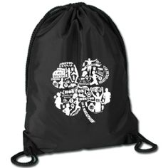 Running Sport Pack Cinch Sack - Boston Clover #WomenGymBags